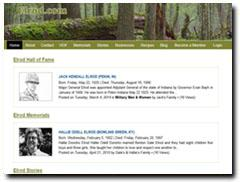 Elrod.com -  Memorials, Hall of Fame, Stories, Recipes, Businesses from Elrod's