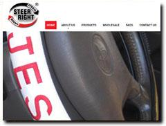 Steer-Right, Your Source for Custom Steering Wheel Covers